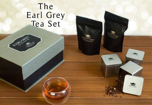 Earl Grey Tea Set Designer Tea Gift The Kettlery