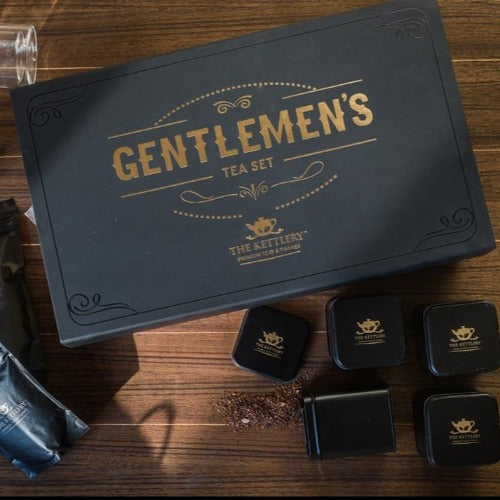 Gentlemen's Tea Set Designer Tea Gift The Kettlery