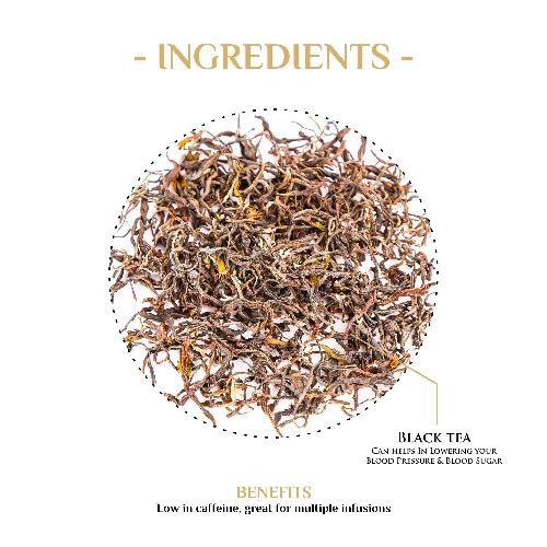Golden Twist Nilgiri Black Tea Black Tea The Kettlery 250g One Time in