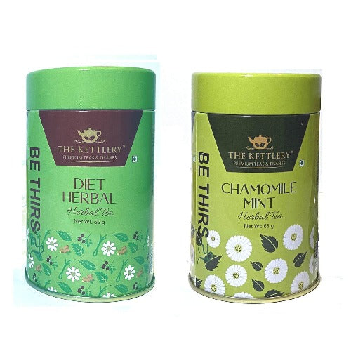 Golden Yoga Detox Herbal Tea Combo - Herbal Tea-The Kettlery