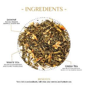 Grace of Monaco White Tea White Tea The Kettlery 250g in