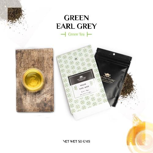 Green Earl Grey Tea Green Tea The Kettlery 50g One Time in