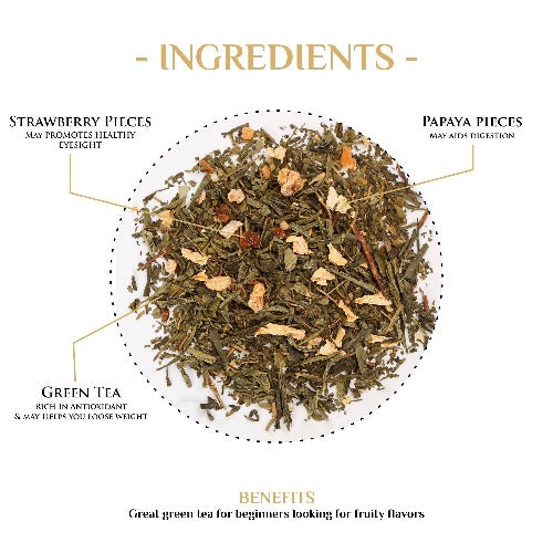Green Roses Tea Green Tea The Kettlery 250g in