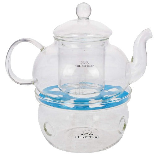 Illusion Glass Teapot & Warmer | The Kettlery