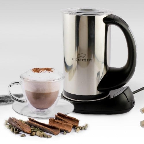 Latte Tea Set with Milk Frother & Latte Tea Cups Tea Kettle & Cup Sets The Kettlery