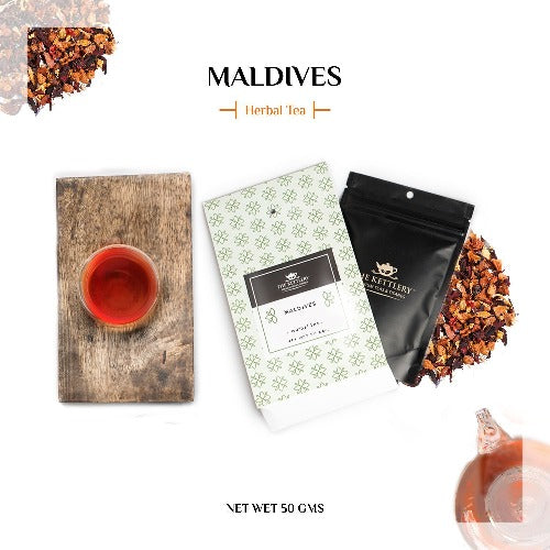 Maldives Fruit Tea Herbal Tea The Kettlery 50g in