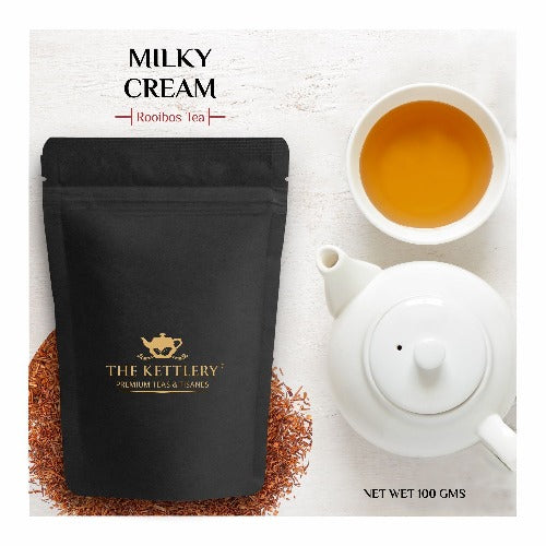 Milky Cream Chocolate Red Tea Rooibos Tea The Kettlery 100g in