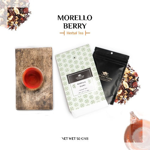 Morello Berry Fruit Tea Herbal Tea The Kettlery 50g in
