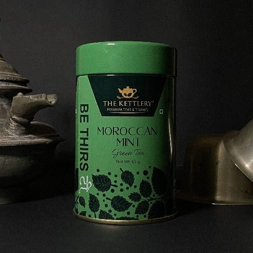 Moroccan Mint Spearmint Green Tea Green Tea The Kettlery