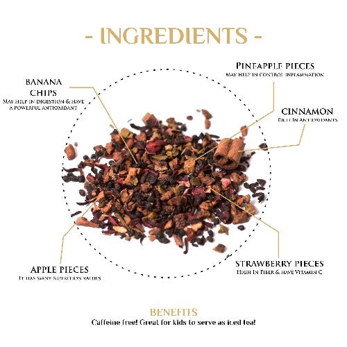 Mulled Cinnamon Herbal Fruit Tea Herbal Tea The Kettlery