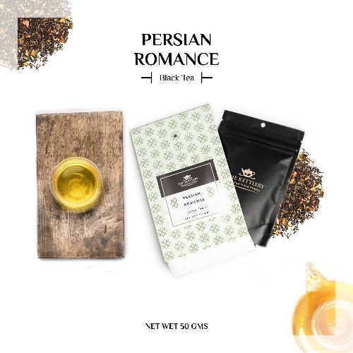 Persian Romance Rose & Jasmine Black Tea Black Tea The Kettlery 50g One Time in