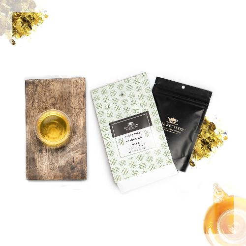 Pineapple Sparkling Wine Tea Herbal Tea The Kettlery 50g in