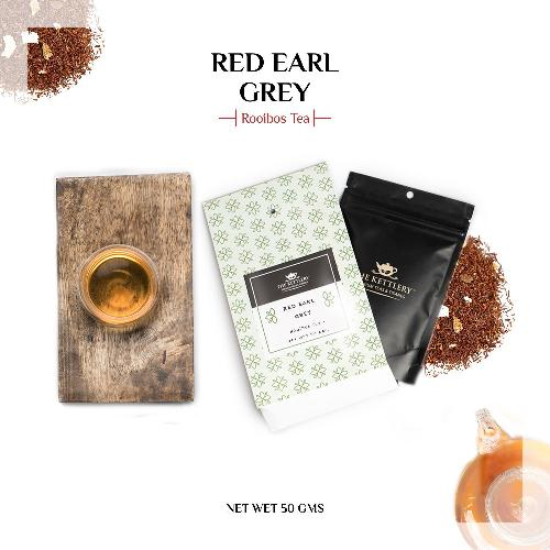 Red Earl Grey Tea Rooibos Tea The Kettlery 50g in