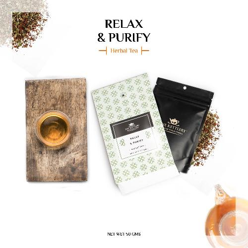 Relax and Purify Fennel Tea Herbal Tea The Kettlery 50 in