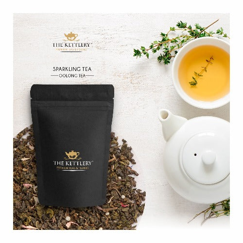 Sparkling Oolong Tea Oolong Tea The Kettlery 100g in