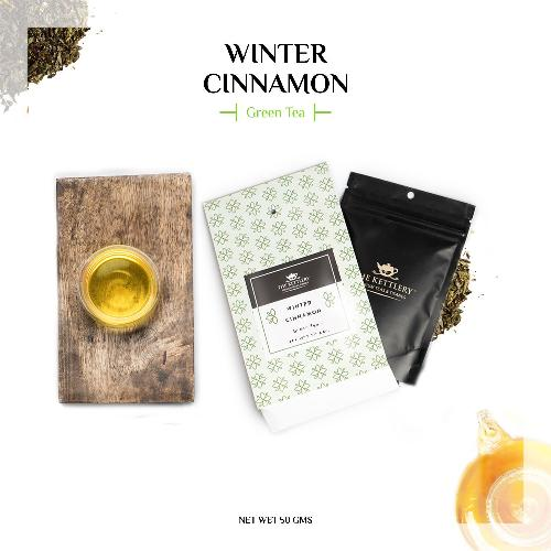Winter Cinnamon Green Tea Green Tea The Kettlery 50g One Time in