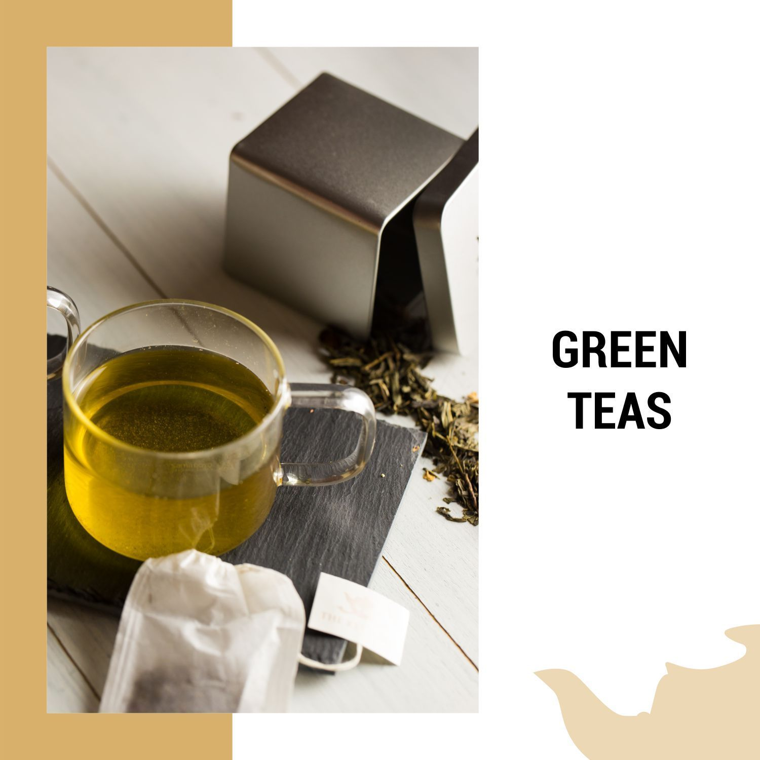 Energizing Loose Leaf Green Teas  | The Kettlery