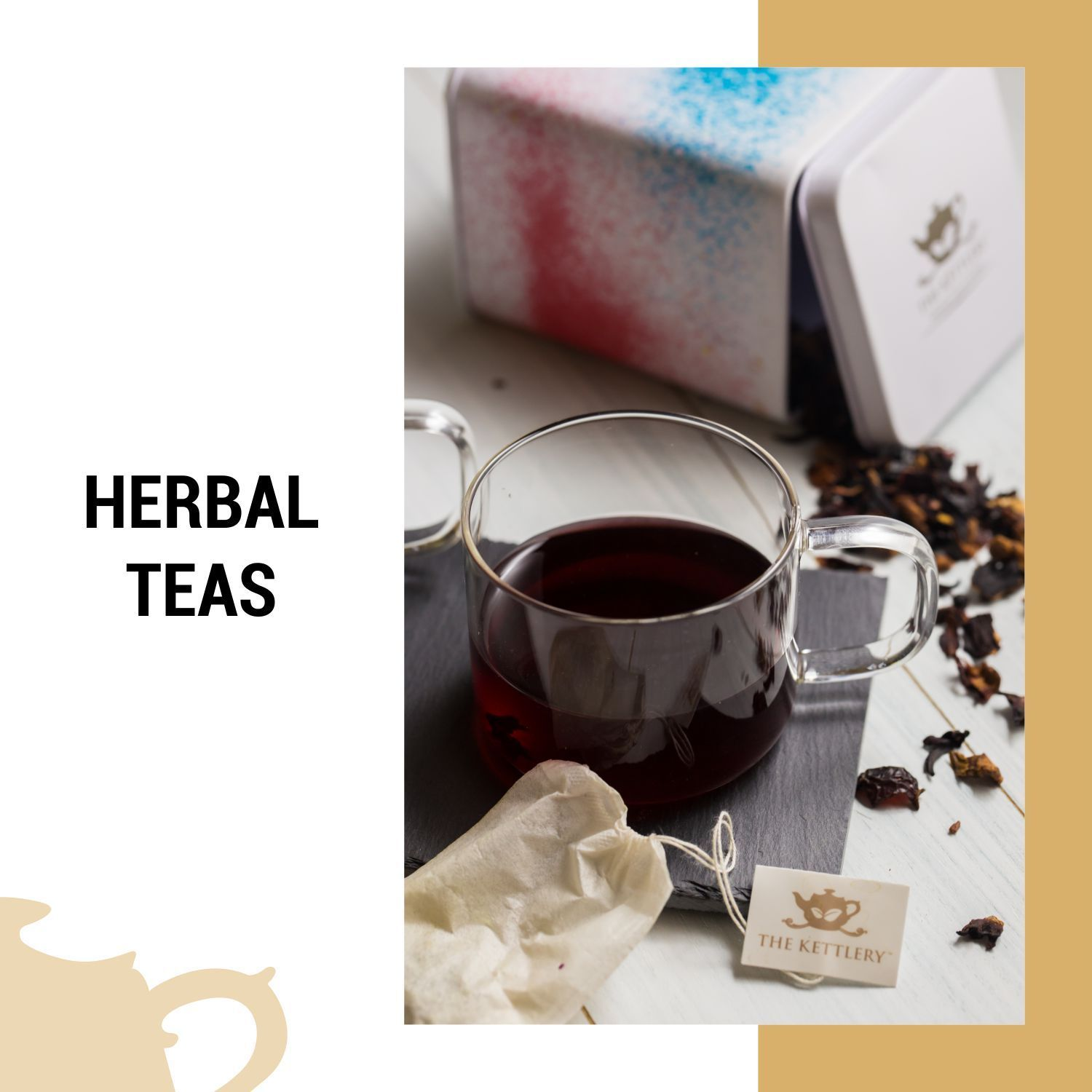 Soothing & Aromatic Herbal Tea Blends