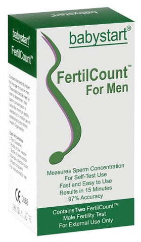 Babystart Fertilcount Test De Fertilité Masculine