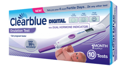 Clearblue Test Ovulation (10 tests) lecture 2 hormones. Promo