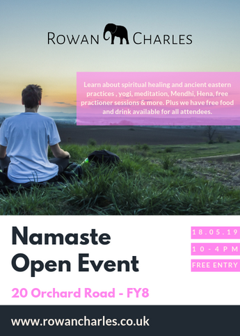 Namaste: The Spiritual All Day Event For Our Customers