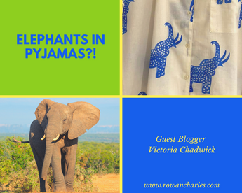 Have you ever seen elephants in pyjamas?! by Guest Blogger Victoria Chadwick