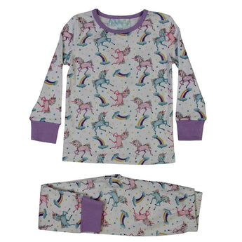 Girls unicorn pyjamas
