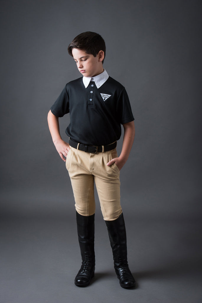 Boy's pleated Jodphur | Signature Equestrian QLD