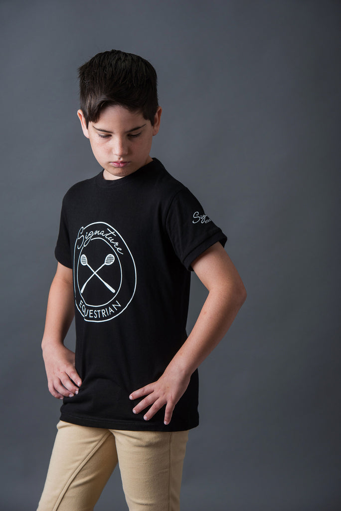 Child's Polocrosse T-shirt | Signature Equestrian QLD