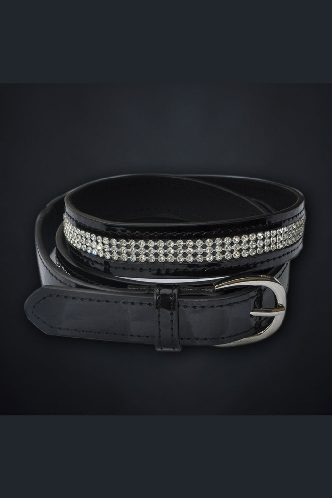 Ladies Diamante Belt