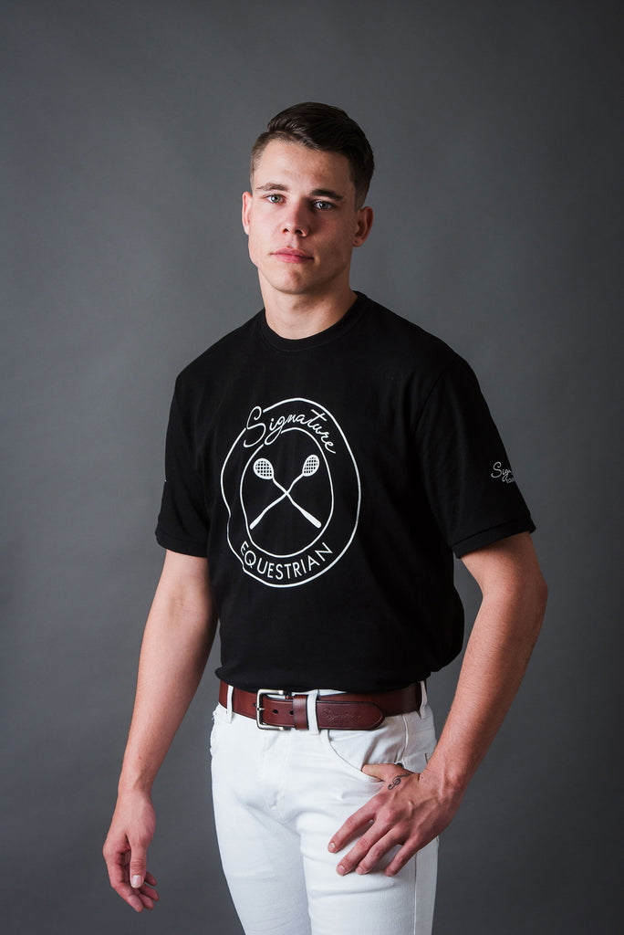 Men's Polocrosse T-shirt | Signature Equestrian QLD