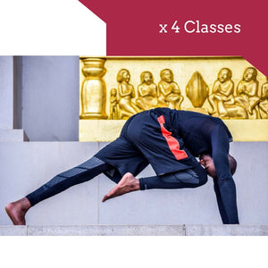 x 4 Yoga classes