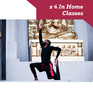 x 4 In home Yoga Classes