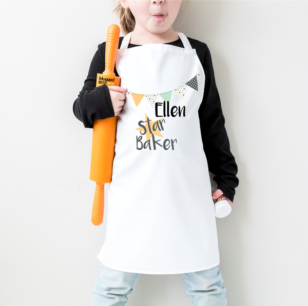 Star Baker Personalised Apron - Mugged Write Off