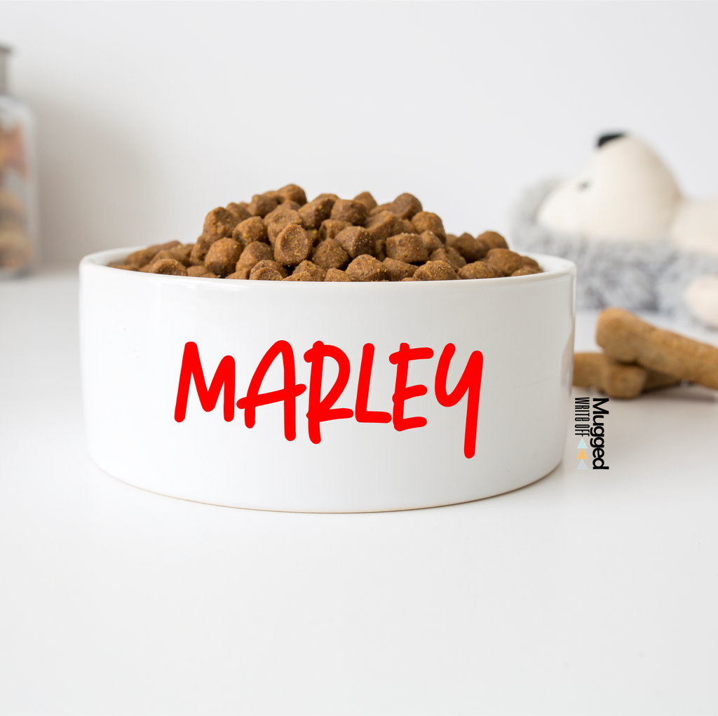 Pet Bowl 'The Marley' - Mugged Write Off