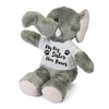 My Big Brother Big Sister Has Paws Elephant Teddy - Mugged Write Off
