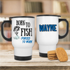 Born To Fish Forced To Work Mug - Mugged Write Off