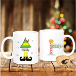 Elf From The North Pole Personalised Christmas - Mugged Write Off