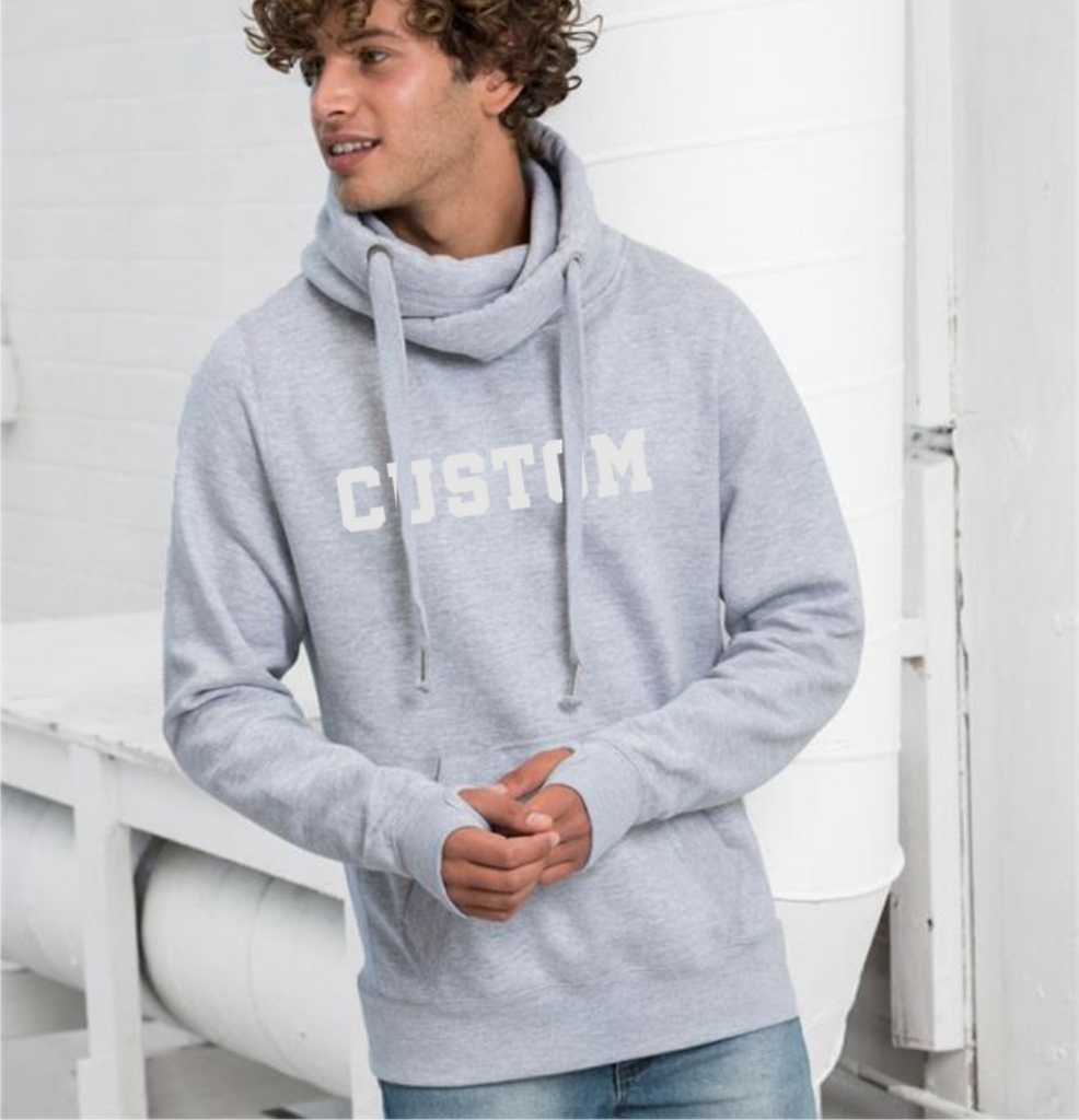 Custom Chunky Neck Hoodie - Mugged Write Off