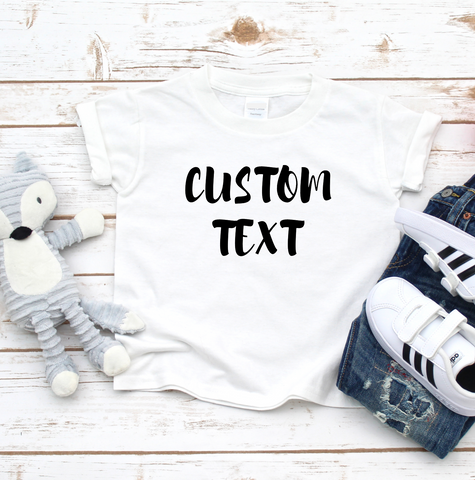 Kids Custom T Shirt