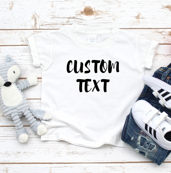 Kids Custom T Shirt - Mugged Write Off