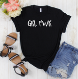 GRL PWR T Shirt - Mugged Write Off