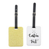 Custom Create Your Own Glitter Luggage Tag - Mugged Write Off