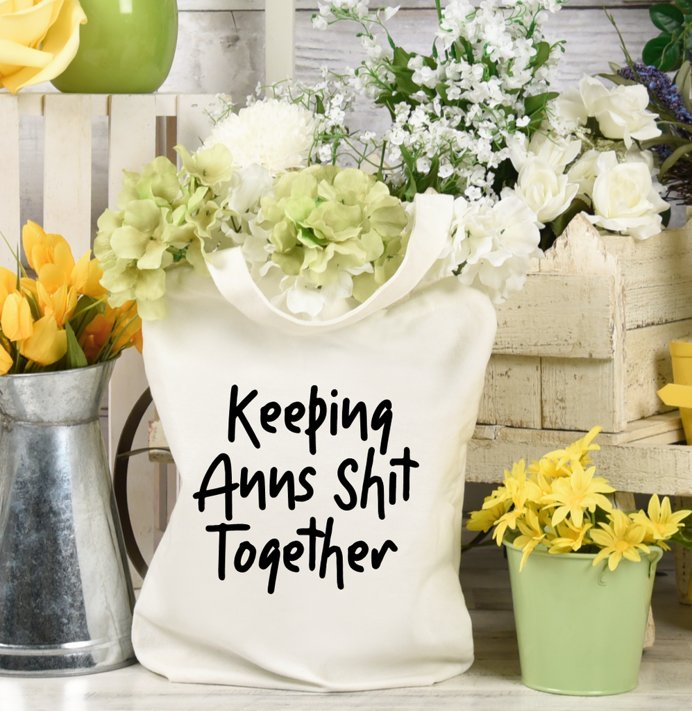 Keeping My Shit Together Tote Bag - Mugged Write Off