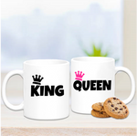 King & Queen Mug Set - Mugged Write Off