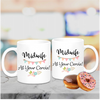 Midwife At Your Cervix with Bunting Mug - Mugged Write Off