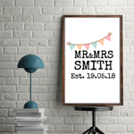 Mr & Mrs Bunting Print Download - Mugged Write Off