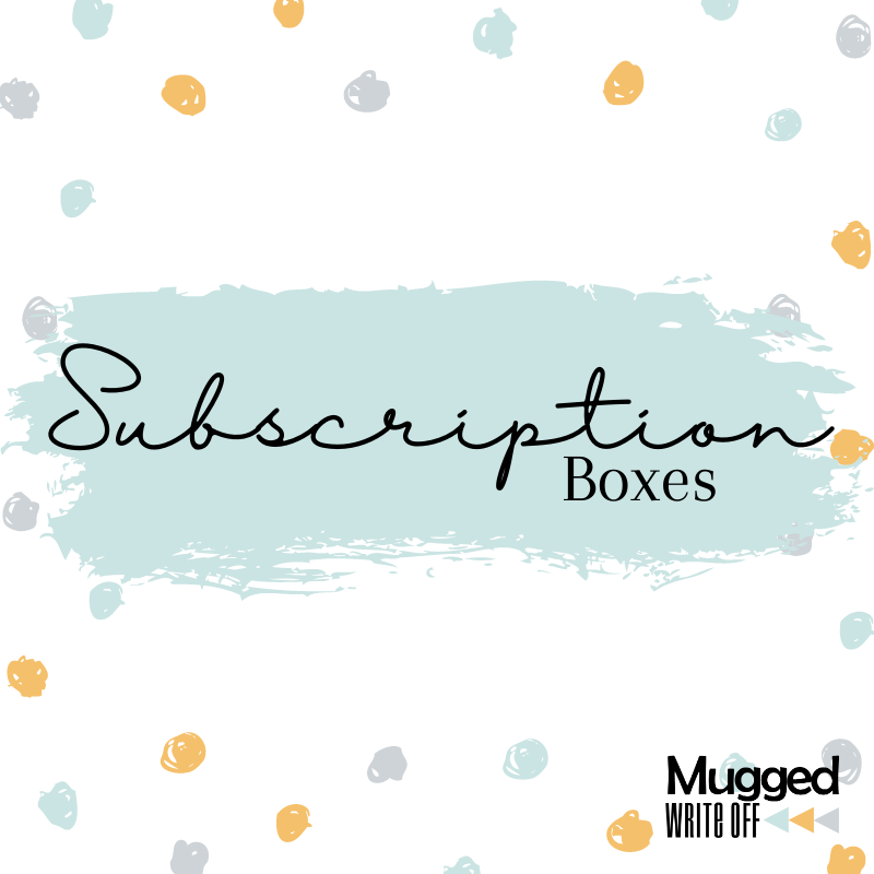 Personalised Subscription Box - Mugged Write Off Limited