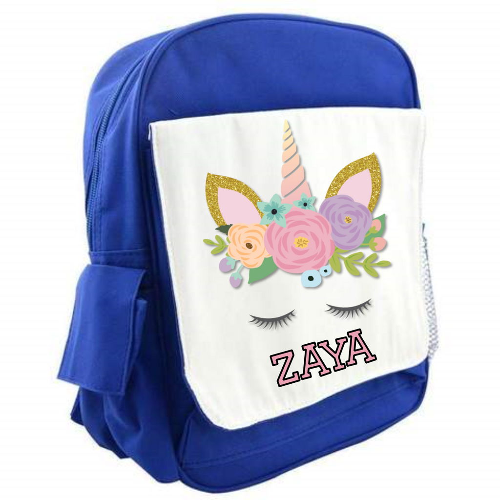 Unicorn Personalised Back Pack Bag - Mugged Write Off