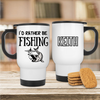 I'd Rather Be Fishing Mug - Mugged Write Off